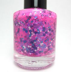 validate me glitter nail polish by pipedreampolish on Etsy, $8.00