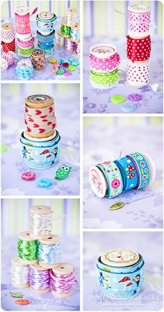 Heart Handmade UK: Yarn Ribbon and Crafty Storage Inspiration from Craft and Creativity