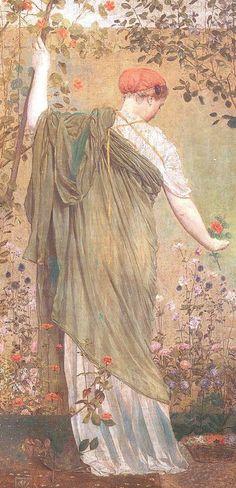 Albert Joseph Moore 1841-1893 | British Classical painter