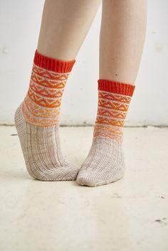 Otis Socks by Rachel Coopey