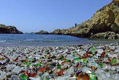 Glass Beach, Kauai, Hawaii.  Can't wait to go there :)