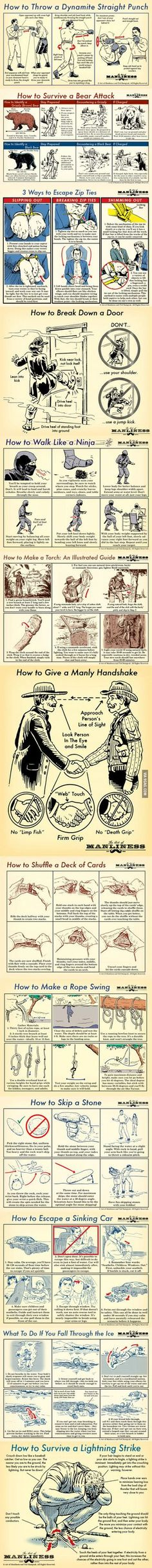 How To. ..The Act of Manliness