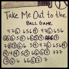 """Harmony CaPleur showcases """"Take Me Out to the Ball Game"""" for Opening Day and as a great song to practice jumping holes on the harmonica."""
