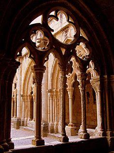 Monasterio de poblet.Cataluña.España