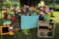 Festa do sítio do pica pau amarelo... www.ramosdecor.com.br