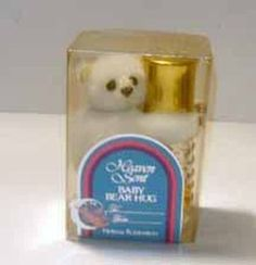 Helena Rubinstein Heaven Sent Perfume Baby Bear - Quirky Finds Vintage