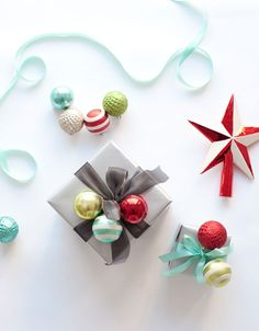 DIY Ornament Clusters @ms_living