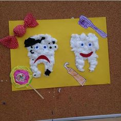This page has a lot of free Dental health craft idea for kids,parents and preschool teachers. Hygiene Lessons, Art For Kids, Crafts For Kids, Dental Health Month, Dental Kids, Health Activities, Dental Hygiene, In Kindergarten, School Projects