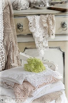 Shabby Chic-never enough lace
