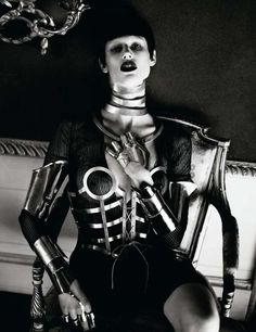 Mert and Marcus Do a Dark Shoot for Interview Magazine March 2012