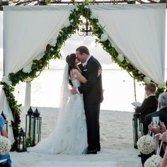 Stunning ceremony gazebo