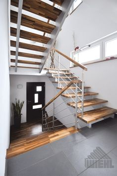 WIEHL Treppen: Aufgesattelte Treppen