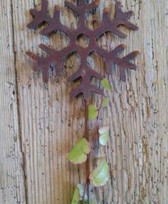 Eiskristall Dekoration