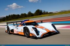 Nothing quite so beautiful as a Gulf Racing liveried prototype at Le Mans.
