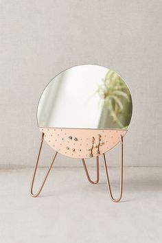 Shop Kamilah Mirror Earring Organizer at Urban Outfitters today. Home Decor Bedroom, Diy Home Decor, Cool Dorm Rooms, Jewellery Storage, Earring Storage, Mirror Jewellery, Diy Jewellery, My New Room, Jewelry Organization