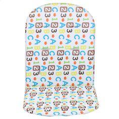 B Blesiya Baby Stroller//Car//High Chair Seat Cushion Liner Mat Pad Cover Protector with Cartoon Pattern Star
