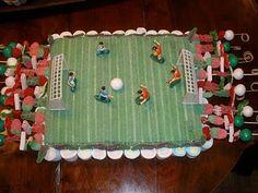 Tarta de chuches futbolin