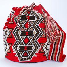 Handmade Hermosa Mochila Bag www.wayuutribe.com