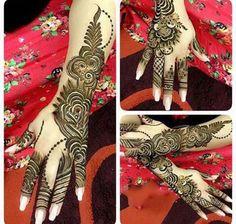 pakistani Fancy Arabic Henna Mehndi Designs For-Girls 2016- | mehndi designs for girls2016