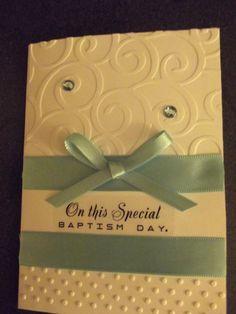Baptism Card - $2.00