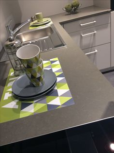 Silestone Altair Suede by @Induscabel Froyennes