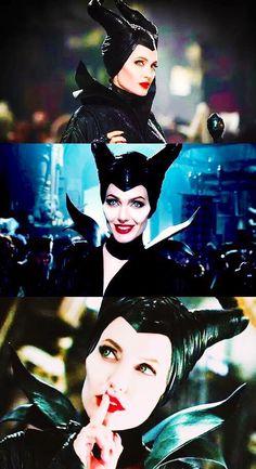 Come thru Angelina! Makeup was flawless Angelina Jolie Maleficent, Maleficent 2014, Maleficent Movie, Malificent, Maleficent Quotes, Disney Boys, Disney Fun, Disney Magic, Disney Movies