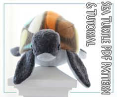 Turtle sewing pattern