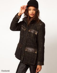 ASOS Tweed Pocket Jacket