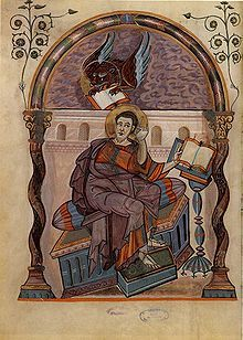 Evangelist portrait - Wikipedia, the free encyclopedia