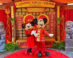 Lunar New Year at Disney California Adventure - the Year of the Mouse! Click for our festival guide. #disney #lunarnewyear #mickeymouse #minniemouse #mickey