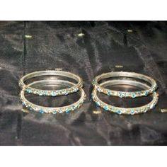 4 Pcs Set Turquoise Blue Bridal Indian Bangles Traditional Churi Set Bollywood Kangan (Jewelry)  http://www.foxy-fashion.com/Johns-Amazon.php?p=B0085SVJTK