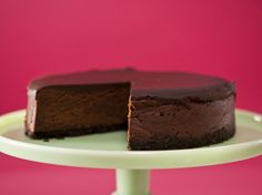 Get this all-star, easy-to-follow Food Network Deepest Darkest Chocolate Cheesecake recipe from Anne Thornton.