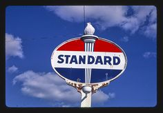 Standard Gas sign