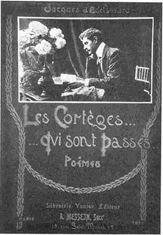 Cover by Jacques d'Adelsward Fersen. 1903