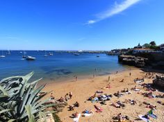 Lisbon is one of the few major European cities to be surrounded by beaches. Hop the train to Estoril (35 mins) or Cascais (40 mins, pictured), but beware of the crowds—these beaches are popular with tourists and locals alike. Less busy, but also slightly further afield, lies Praia de Adraga, one of the most beautiful beaches in all of Europe.