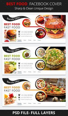 Best Food Facebook Cover