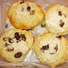 My mother used to make Kolaches every Christmas! And we only have a small percentage of Czech in our family ancestry. But it doesn't feel like Christmas without them. Cheese Recipes, Gourmet Recipes, Slovak Recipes, Czech Recipes, Friend Recipe, Polish Recipes, Cottage Cheese, Kitchens, Bakken