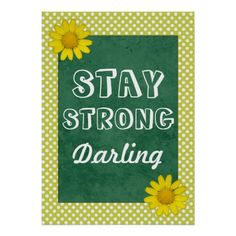 Stay Strong, Darling - Inspirational Poster so please read the important details before your purchasing anyway here is the best buyShopping          	Stay Strong, Darling - Inspirational Poster lowest price Fast Shipping and save your money Now!!...