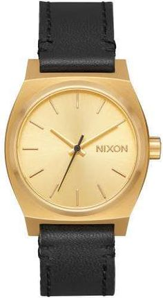 Schmuck Frauen Nixon Medium Time Teller Leather Quarzuhr gold. Color  PalettesStainless SteelMediumHandsColourLeatherWomen s WatchesModelsProducts b3e6d7861ae