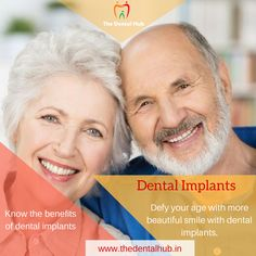 Missing #teeth? Opt for dental implants and get back your beautiful #smile and confidence. Read this article to know the great benefits of dental implants #dentalimplants #dentistry #dentalcare #missingteeth #TheDentalhub #gurgaon
