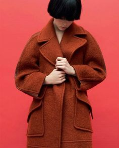 The #FendiFW15 fleecy mohair coat beautifully captured for the December issue of @interviewrussia