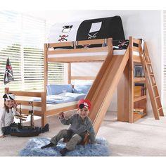 die besten 25 etagenbett mit rutsche ideen auf pinterest coole betten f r jugendliche coole. Black Bedroom Furniture Sets. Home Design Ideas