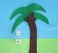 Adding & Subtracting Coconuts  Beach Theme