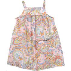 Paisley cotton sundress