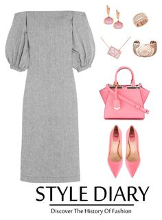 """Untitled #279"" by ycsandjaja on Polyvore featuring Lisa Marie Fernandez, Fendi, Ona Chan, Links of London and Swarovski"