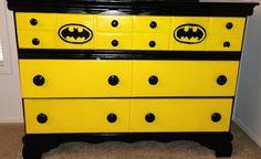 Batman Dresser... doing this with a tall dresser