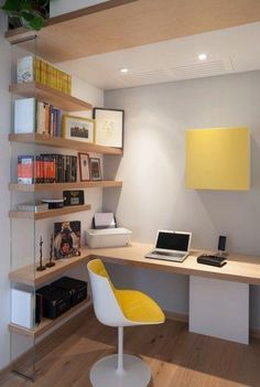 Home Office Design Ideas - Whether you have a dedicated home office room or you're hoping to create an work or hobby area in your living room, dining room or even bedroom, we have all the inspiration and advice you need. Home office design layout, home office ideas for small spaces, small office, modern ideas, and office ideas on a budget. #OfficeRoomIdeas #HomeOfficeDesign #Homeofficeideas
