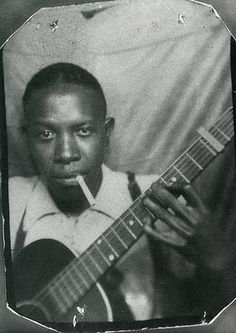 The great Robert Johnson, King of the Delta Blues and hellhound trailblazer.