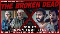Broken Pictures, Open Your Eyes, The Walking Dead, Movie Posters, Photography, Photograph, Film Poster, Popcorn Posters, Fotografie