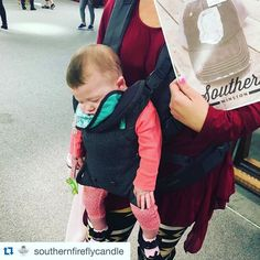 So happy @kountrygirlboutique picked us up but we are for sure jealous we can't be snoozing like baby girl  #kountrygirlboutique #southernwinston #atlmart #naptime #southernshoppers by southernwinston